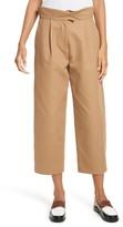 Carven Women's Cotton Crop Pants