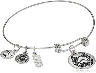 Star Wars Jewelry Stormtrooper Stainless Steel Expandable Charm Bracelet