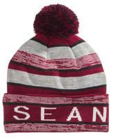 Sean John Striped Cuffed Beanie, Big Boys