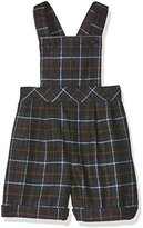 Rachel Riley Baby Boys 0-24m Windowpane Check Dungarees,6-9 Months (Manufacturer Size:6M)