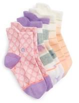 Stance Infant Girl's Pop Assorted 3-Pack Socks