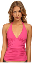 Tommy Bahama Pearl Solids Halter Cup Tankini