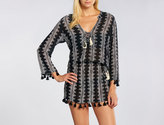 Cool Change Stargaze Stripe Chloe Tassel Tunic