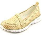 Propet Travellite Women N/s Round Toe Synthetic Tan Running Shoe.