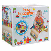 Alex Jr Busy Bead Race Around Wooden Interactive Toy