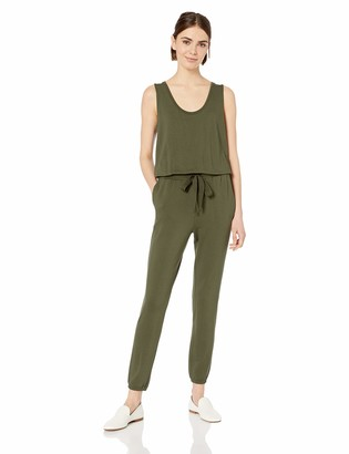 Daily Ritual Amazon Brand Women's Supersoft Terry Sleeveless Jumpsuit
