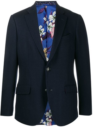 Etro Tailored Single-Breasted Blazer