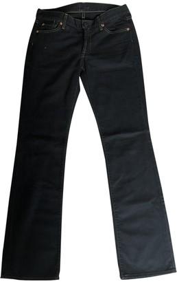 Hudson Black Cotton - elasthane Jeans for Women