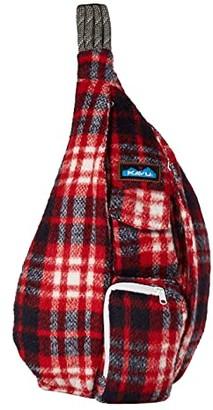 Kavu Plaid Rope Bag (Americana) Bags