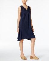 Style&Co. Style & Co Crochet-Yoke Bridge-Hem Dress, Only at Macy's