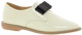 F-Troupe Bow Flat Shoes - Cream