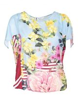 Blugirl Floral Print Top