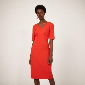 Warehouse CREPE PENCIL DRESS