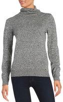 Calvin Klein Textured Knit Turtleneck Sweater