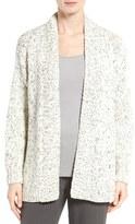 Eileen Fisher Organic Cotton & Alpaca Cardigan