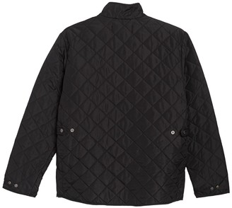 Hawke & Co Diamond Quilted Zip Up Jacket