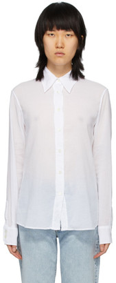 Our Legacy White 70s Line Shirt