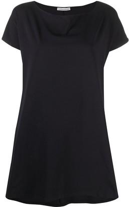 Stefano Mortari curved-hem short-sleeve T-shirt