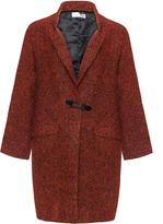 Boheme Plus Size Oversized patterned coat