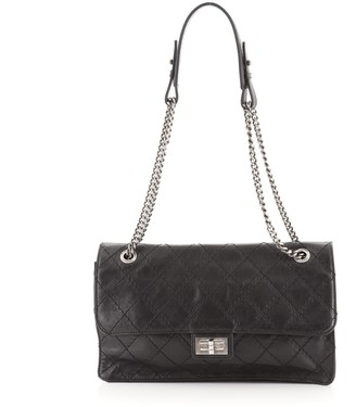 Chanel Crave Reissue Flap Bag Quilted Calfskin Jumbo