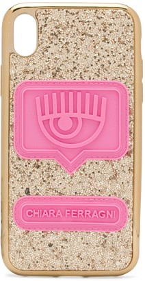 Chiara Ferragni glitter Iphone XR case