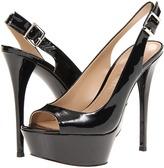 Paris Hilton Nia (Black Patent) - Footwear