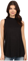 Brigitte Bailey Luther Mock Neck Sleeveless Top