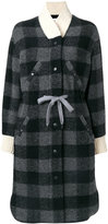 Etoile Isabel Marant Glitz oversize coat - women - Cotton/Polyester/Virgin Wool/other fibers - 36