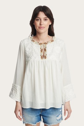 The Frye Company Embroidered Blouse