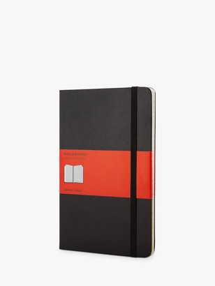 Moleskine Pocket Address Book, Black