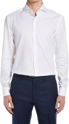 HUGO BOSS Slim Fit Button-Up Dress Shirt