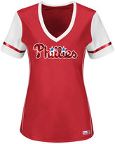 Majestic Women's Philadelphia Phillies Curveball T-Shirt