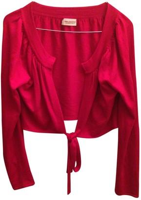 Philosophy di Alberta Ferretti Red Wool Knitwear