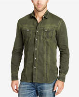 William Rast Men's Pigment-Dyed Shirt