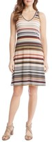 Karen Kane Women's Brigitte Zigzag Stripe Dress