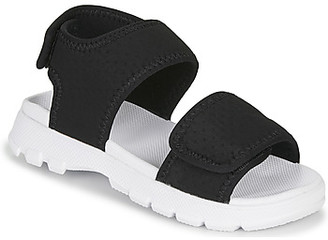 Hunter BIG KIDS ORIGINAL OUTDOOR SANDAL girls's Sandals in Black