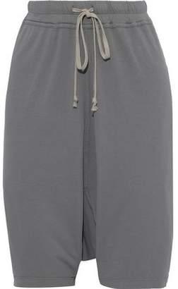 Rick Owens Cotton-jersey Shorts