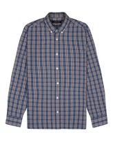 Jaeger Windowpane Check Shirt