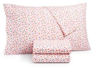 Martha Stewart Essentials 200-Thread Count 4-Pc. Queen Sheet Set, Created for Macy's Bedding