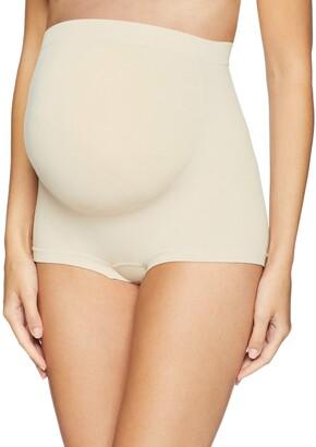 Annette Women's Soft and Seamless Full Coverage Pregnancy Boyshort