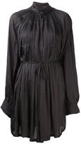 Ann Demeulemeester pleated blouse dress