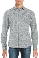 Calvin Klein Jeans Patterned Sportshirt