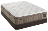 """Stearns & Foster Scarborough Luxury Pillowtop Euro Mattress with 9"""" Flat Foundation (Plush)"""