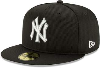 New Era Men's Black New York Yankees Team Clubhouse 59FIFTY Fitted Hat