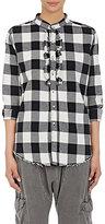 NSF Women's Tux Shirt-BLACK, WHITE, NO COLOR