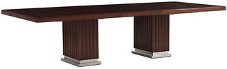 Ralph Lauren Home Duke Pedestal Dining Table - Penthouse Rosewood