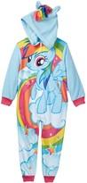 AME My Little Pony Rainbow Dash Hooded Fleece Blanket Sleeper (Little Girls & Big Girls)