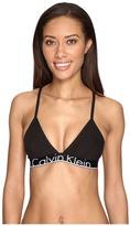 Calvin Klein Underwear CK ID Cotton Large Waist Band Triangle Unlined Women's Underwear