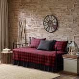 Woolrich Red Buffalo Check 5-piece Daybed Coverlet Set