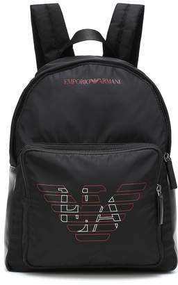 Emporio Armani Kids Logo backpack